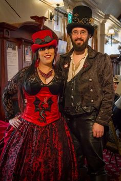 Welcome to the Surrey Steampunk Convival — with Vijay Johnson and Alex Phillips.