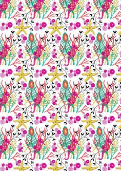How to create a hand drawn repeat pattern