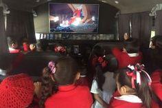 """- El """"camioncito del Saber"""" recorrerá instituciones educativas, colonias y barrios Los niños del Preescolar """"María Olvera Olvera"""" después de..."""