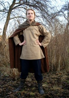 Medieval Viking cloak medieval pattern by SlavMedievalShop on Etsy, $129.00