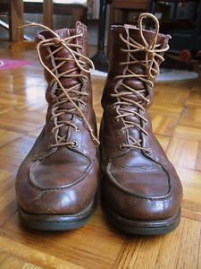 Vintage Herman Toe Glove Leather Lined Boots 11 USA Red Wing | eBay