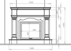 По эскизу и размерам по месту нужно сделать чертеж; желательно в натуральную величину на листе ватмана. Приложите чертеж к месту будущего ка...