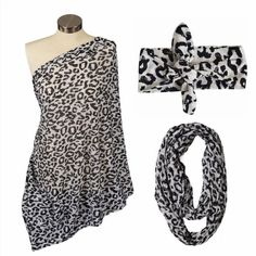29.20$  Buy now - http://vimit.justgood.pw/vig/item.php?t=ku2xvp214502 - Itzy Ritzy Nursing Happens Infinity Breastfeeding Scarf Cheetah Girl & Matchi...