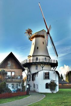 Märchenhafte Mühle von Etelsen Alemania - Explore the World with Travel Nerd Nici, one Country at a Time. http://TravelNerdNici.com