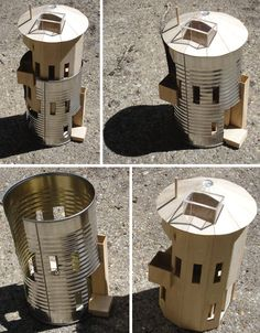 silo eco house | House in a Can: Prefab Metal Off-the-Shelf Grain Silo Homes
