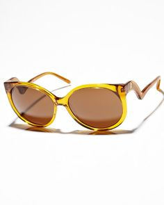 SURFSTITCH - SUNGLASSES - OVERSIZED - HOUSE OF HARLOW ROBYN SUNGLASSES - MUSTARD