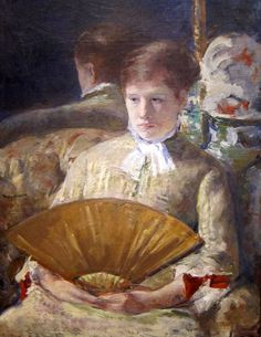 1880. Miss Mary Ellison - Mary Cassatt
