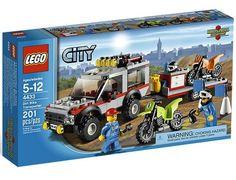 Jeu de construction LEGO City 4433 - Le Transporteur de Motos