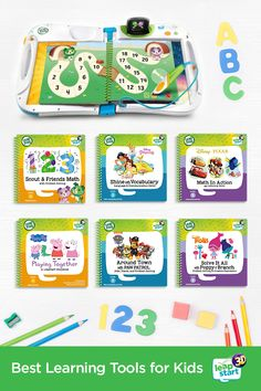 Get Your Kids Excited About Everything From Reading To Problem Solving. View LeapStart® Learning System & Our Top Learning Tools. Summer Preschool Activities, Preschool Curriculum, Toddler Activities, Learning Activities, Preschool Learning, Educational Activities, Teaching, Home Learning, Toddler Learning