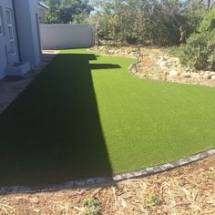 Artificial grass installation by Artificial Grass Installation, Somerset West, Golf Courses, Sidewalk, Instagram Posts, Side Walkway, Walkway, Walkways, Pavement