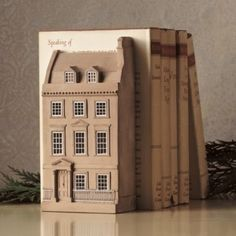 Architectural model of Jane Austen's house in Bath by Timothy RIchards.