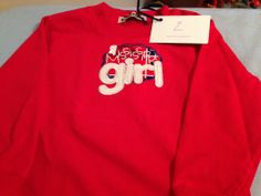 Ole Miss Mississippi Girl applique $18 for shirt $10 for doll shirt