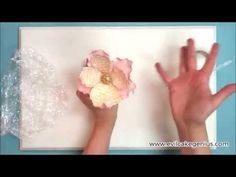 Как сделать сахарный пион. - YouTube