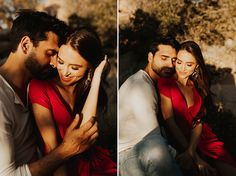 This engagement shoot at Joshua Tree National Park was warm, carefree, playful, and got me so inspired! Danielle and Jimmy were more gorgeous than the park! Photo Poses For Couples, Couple Photoshoot Poses, Engagement Photo Poses, Couple Portraits, Engagement Pictures, Engagement Shoots, Wedding Engagement, Engagement Ideas, Pre Wedding Poses