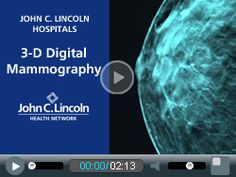 best place to get a 3d mammogram in phoenix john c. lincoln breast health. like a day spa with a caring understanding staff.