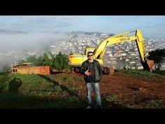 Escavadeira SDLG carregando Caminhão SCANIA 111 (Jacaré ) - YouTube
