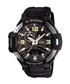 Casio G-Shock Gravitymaster Twin Sensor GA-1000-1B Men's Watch