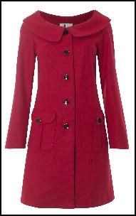 Red Coat...love the collar
