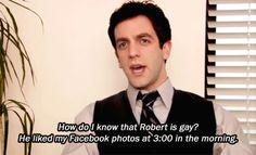 """You're good with context clues. 15 Signs You're Ryan Howard From """"The Office"""" Ryan Howard The Office, The Office Jim, The Office Show, Office Memes, Office Quotes, Funny Memes, It's Funny, Funny Stuff, Dunder Mifflin"""
