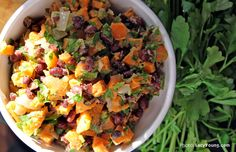 salad roasted vegetable quinoa salad carrot dill white bean salad ...