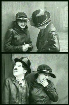 Charlie Chaplin & Edna Purviance in The Immigrant (1917, dir. Charlie Chaplin)