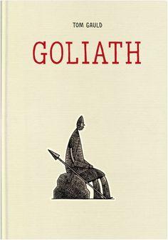 Goliat - moje pierwsze spotkanie z twórczością Toma Gaulda - stoi na mojej półce. ▪ Goliath - my first meeting with the work of Tom Gauld - standing on my shelf.