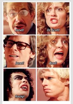 The Rocky Horror Picture Show! Yaaaay!