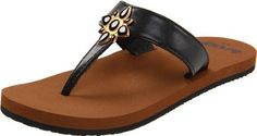 Reef Lu Anne T-Strap Sandal (Toddler/Little Kid/Big Kid) Reef. $16.97. T-Strap. synthetic. TPU Jewel Feature. Anatomical Arch Support. Rubber sole