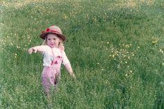 Julietita en el campo