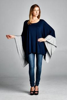 London Tunic in Navy   Women's Clothes, Casual Dresses, Fashion Earrings & Accessories   Emma Stine Limited