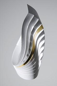 Richard Sweeney ~ paper jewellery