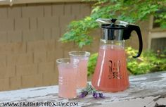 Lavender and lemon combine for a refreshing drink (two methods) | Fresh Bites Daily