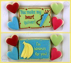 Valentine's Cookies by Artfully Delicious Cookies, via Flickr