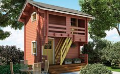 Style At Home, Guest Cabin, She Sheds, Viera, Home Fashion, Tiny House, Home And Garden, House Styles, Outdoor Decor