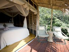 This Luxury Bedroom is waiting for you! #safaris #luxury