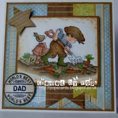 Pop's Cards: Lili Of the Valley Men's Cards, Boy Cards, Kids Cards, Lily Of The Valley, Copics, Masculine Cards, Scrapbooking Layouts, Homemade Cards, Handmade Christmas