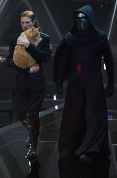 """Time to go, Hux."" ""Not without my cat."""