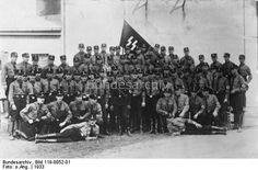SS-Wachmannschaft des Konzentrationslagers Dachau