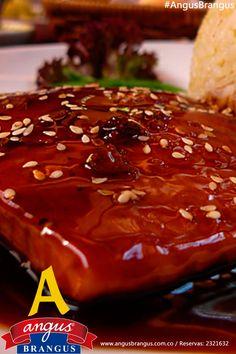 Hoy tenemos #PlatoRecomendado en Angus Brangus – Atún Teriyaky: jugoso filete de Atún asado a la plancha, cubierto en salsa soya, crema de leche, ajonjolí y miel de abejas. www.angusbrangus.com.co.   @restorandoco @Resta_medelln #AngusBrangus #Medellín #RestaurantesMedellín @quehacerenmedellín #FestivalGastronómico