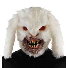 UHC Men's Horror Gruesome Rabid Bunny Mask Halloween Costume Accessory ** Click sponsored image for more details. Maske Halloween, Halloween Masks, Halloween Makeup, Halloween Stuff, Vintage Halloween, Gi Joe, Superman, Bunny Mask, Creepy Horror