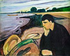 Mélancolie, Edward Munch