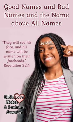 Bible Love Notes: What's Written on Your Forehead?