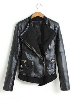 Vegan leather jacket $36