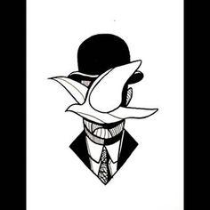 magritte tattoo - Recherche Google