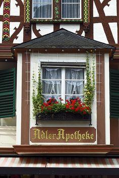 Window in Bernkastel, Germany