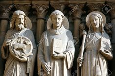 Image result for notre dame statues