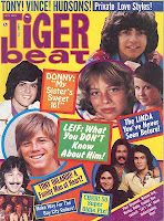 Best part of walking to Lucky's when I was a kid...getting the newest issue of Tiger Beat Magazine!!!