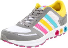 adidas Women's La Trainer W Running Shoe - I think these would inspire me to workout :)