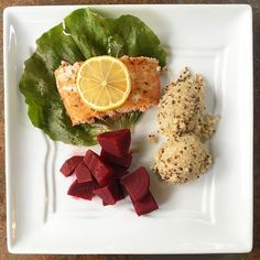 Dinner: Atlantic Wild Salmon Quinoa and boiled beets.  #pcos #pcosbites #pcosdiet #pcosfood #pcostips #pcosfighter #pcosdiva #pcosweightloss  #pcosawareness #pcoswarrior #pcoscysters #pcossupport #cysters  #paleo #paleodiet #paleofood #paleolife #paleofriendly #eatclean #eatright #eatwell #eatfresh #eatgood #keto #ketodiet #weightwatchers #thm #trimhealthymama #whole30 by pcosbites