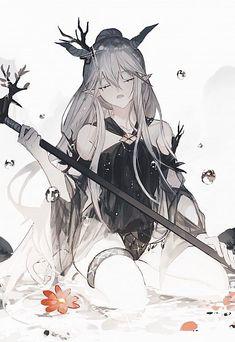 Cool Anime Girl, Beautiful Anime Girl, Anime Art Girl, Manga Girl, Dark Anime Girl, Anime Girls, Chica Anime Manga, Anime Neko, Kawaii Anime